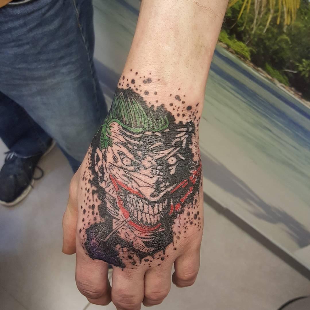 Joker Tattoo Art