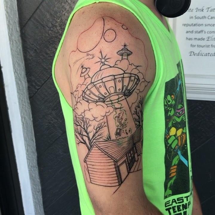 Alien Tattoo Inspiration