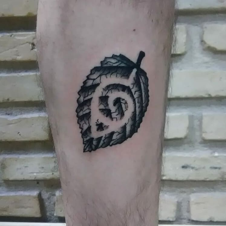 Naruto Japanese Symbol Tattoo