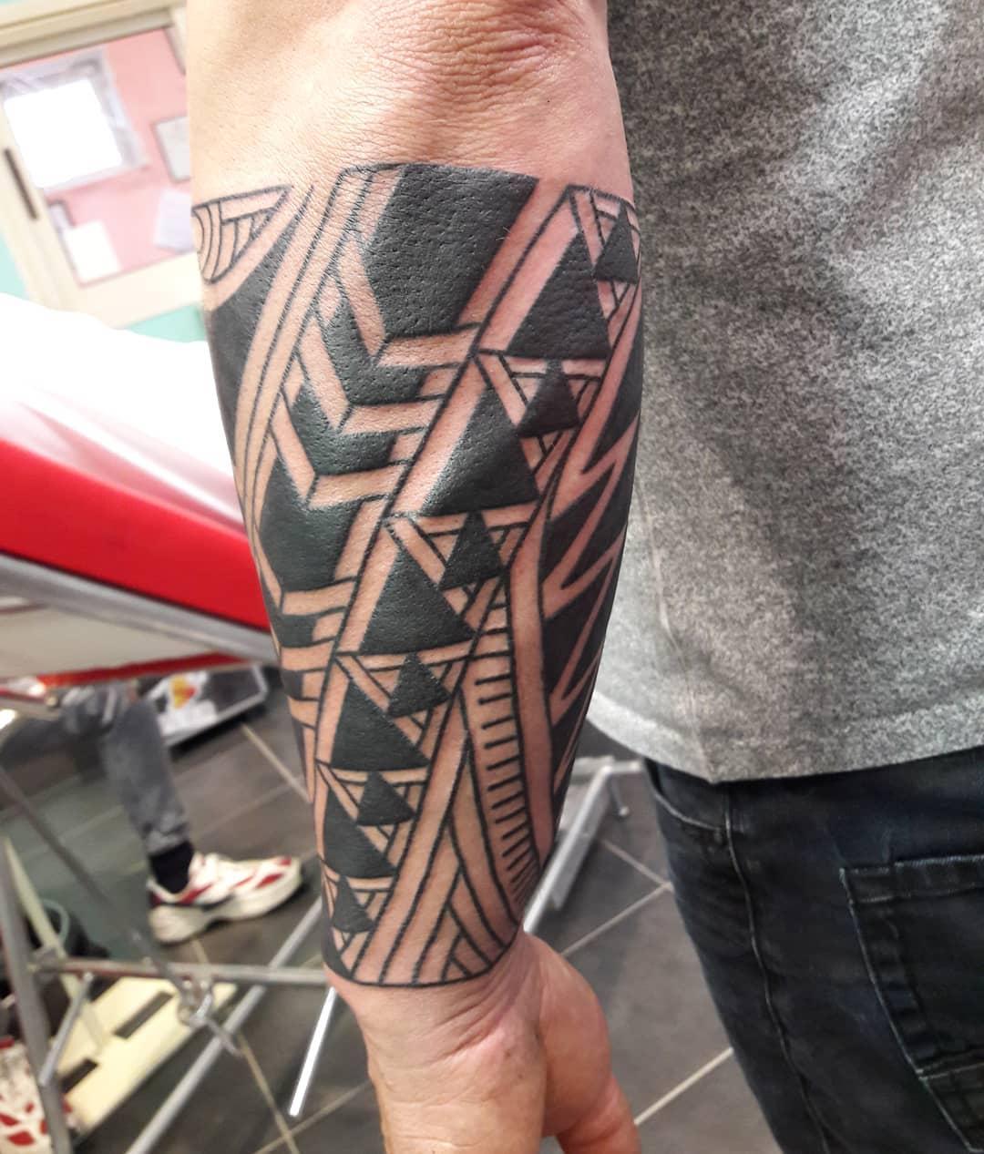 Small Polynesian Tattoos