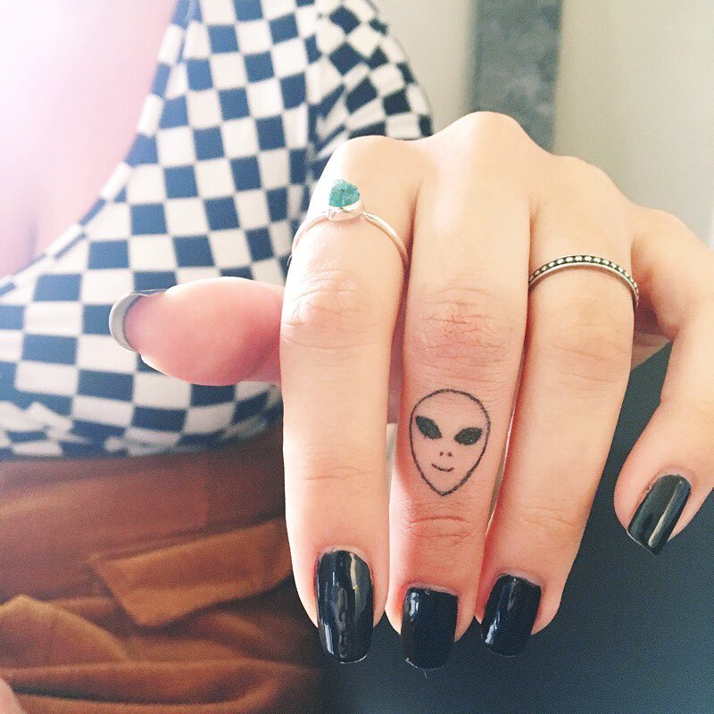 Best Alien Tattoos