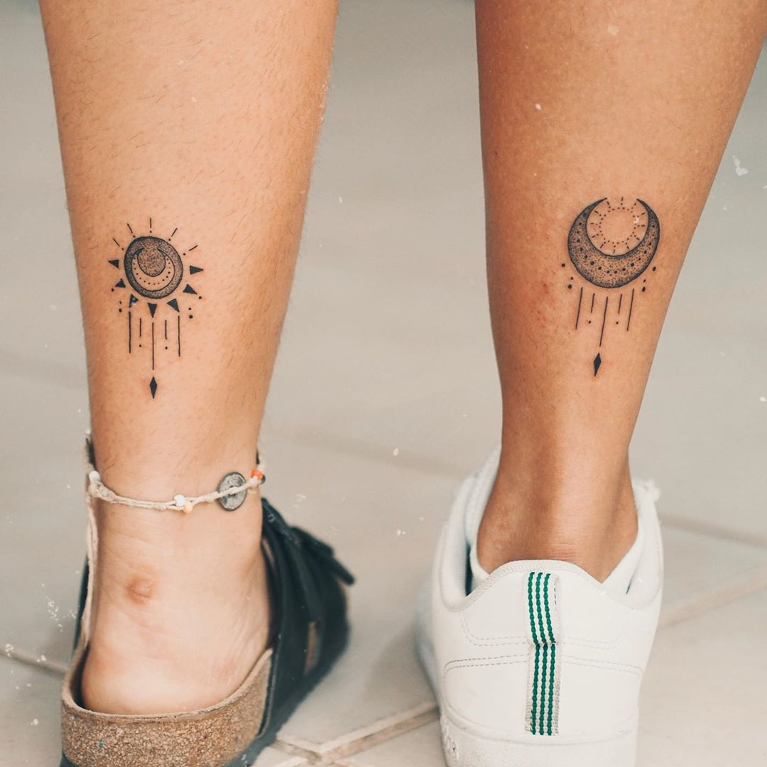 Sun and Moon Tattoo Inspiration