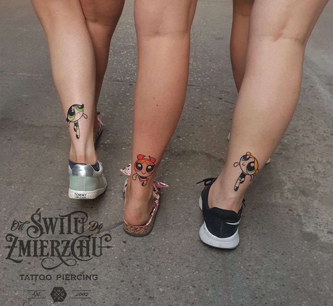 Chic Matching Sister Tattoo Inspirations
