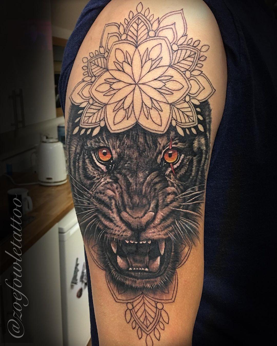 Best Tiger Eye Tattoo Ideas