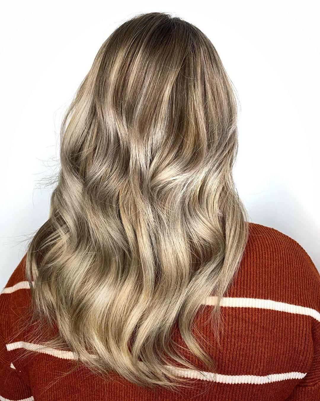 Lowlights for light blonde hair