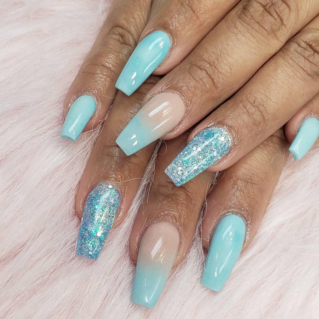Baby Blue Nail Designs