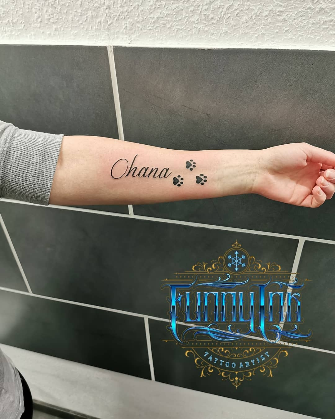 Best Ohana Tattoo Designs