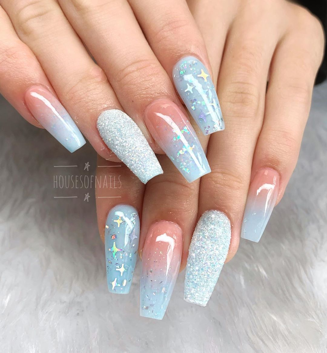 Best Baby Blue Nails