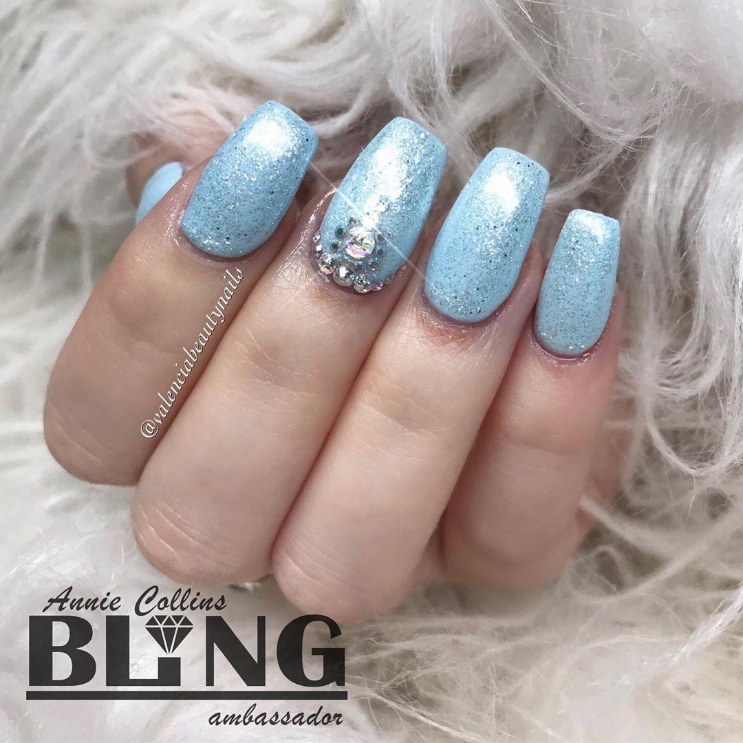Baby Blue Nail Ideas
