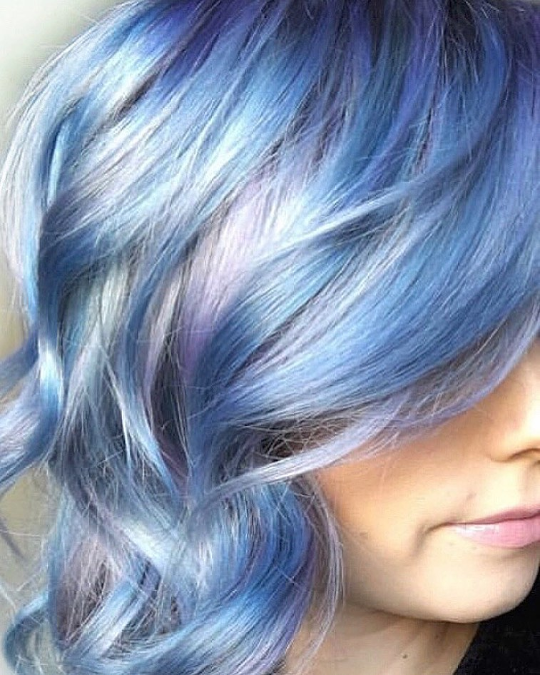 Best Pastel Blue Hair Looks