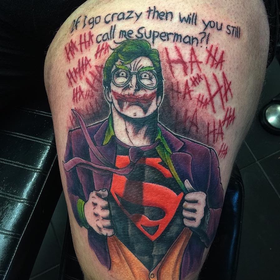 Superman Tattoo Designs