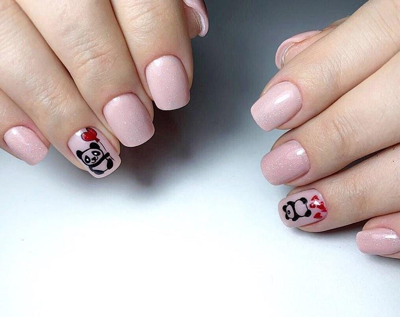 The Best Panda Nails