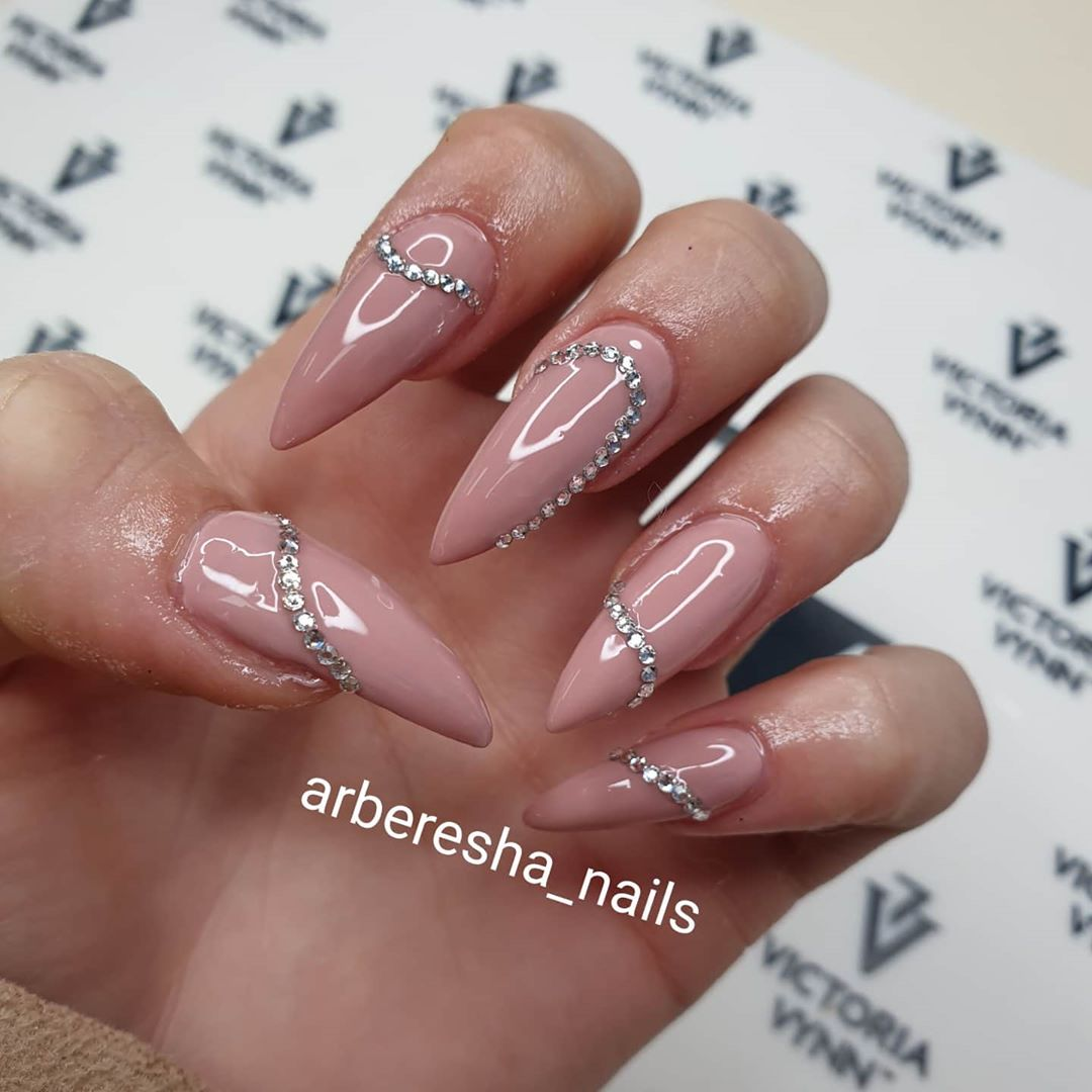 Nails with Diamonds - Best Nail Designs
