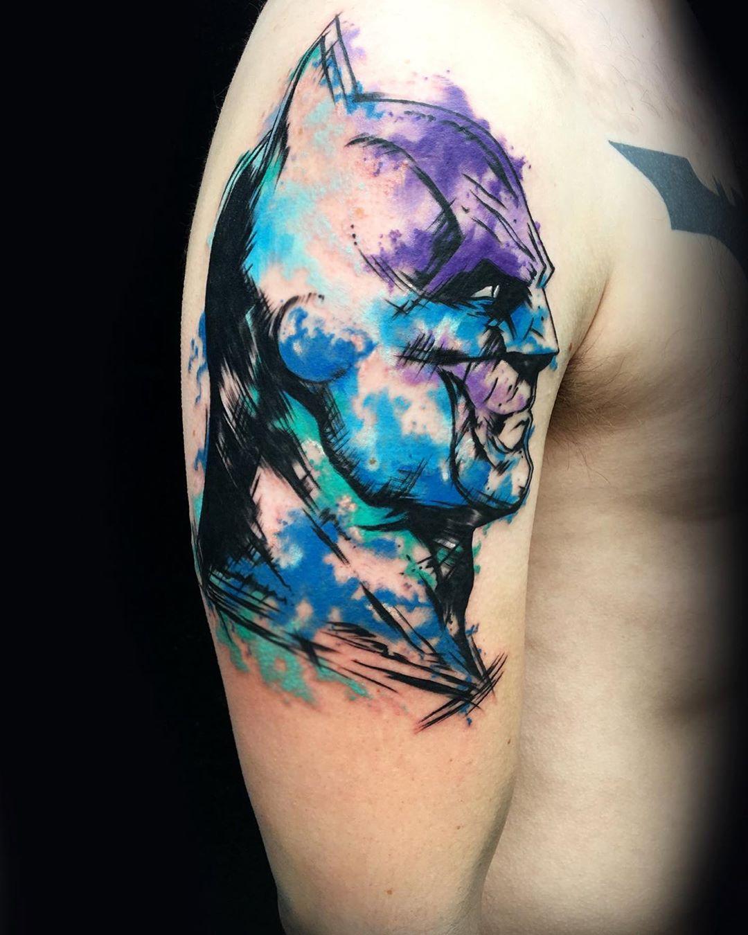 Batman Tattoo Design