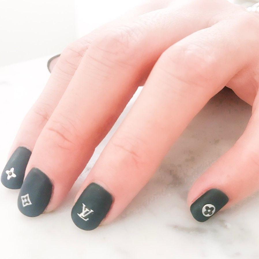 Best Louis Vuitton Nail Designs