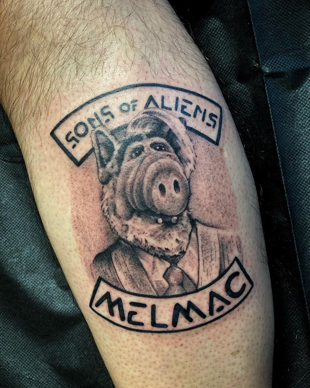 Alien Tattoo Designs