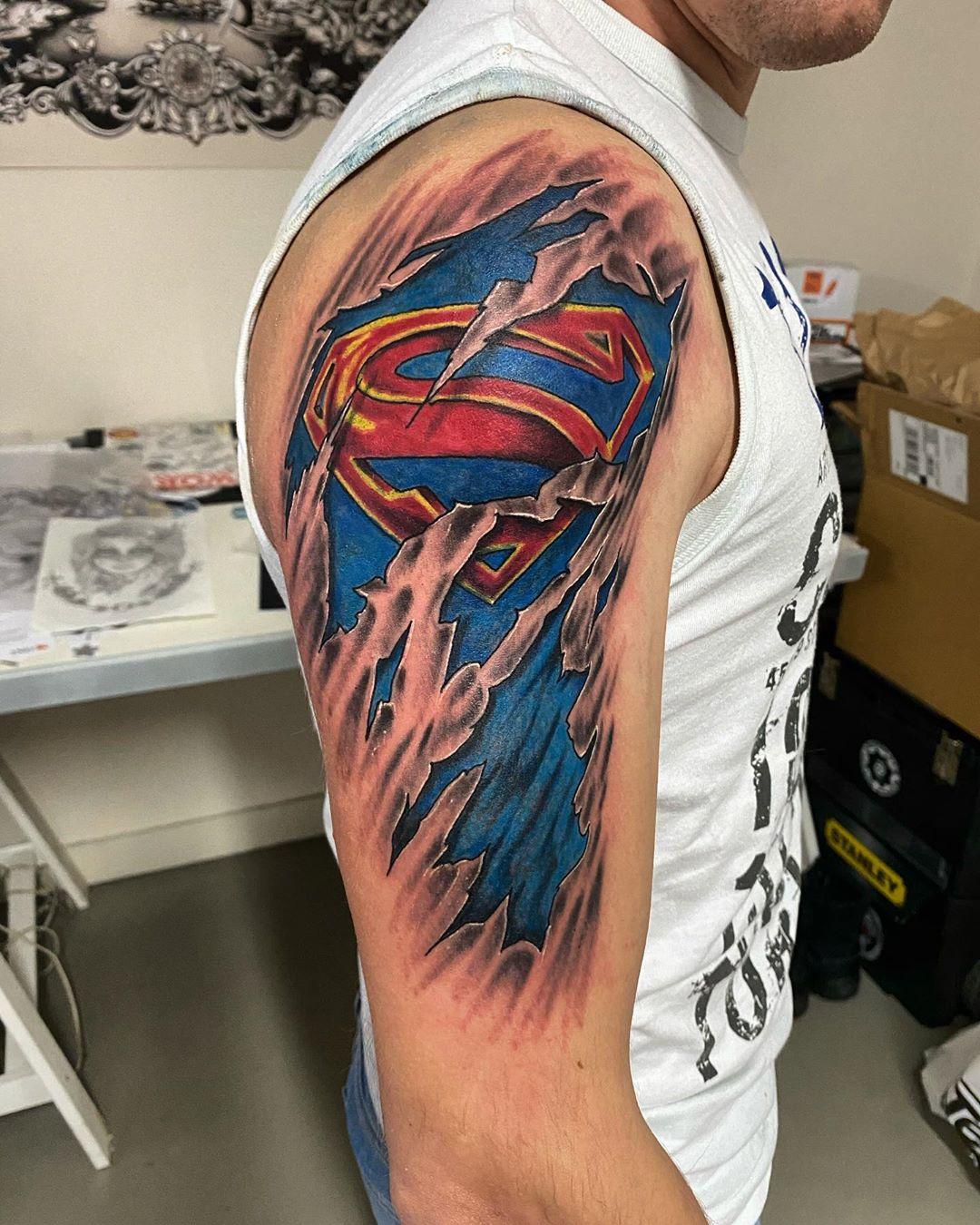 The Best Superman Tattoos