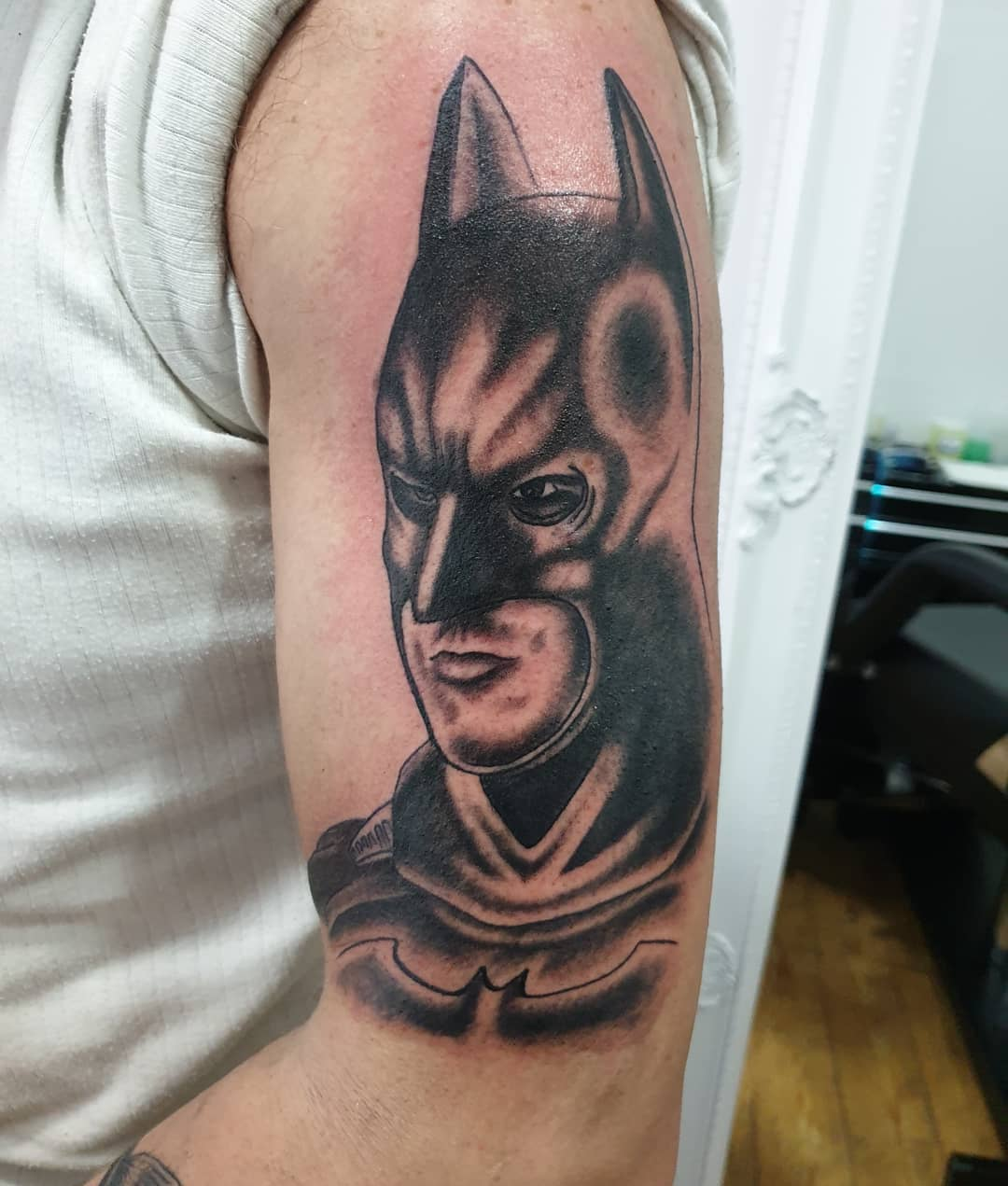 Classic Batman Tattoo