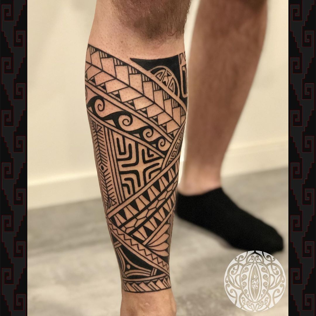 Simple Polynesian Tattoos
