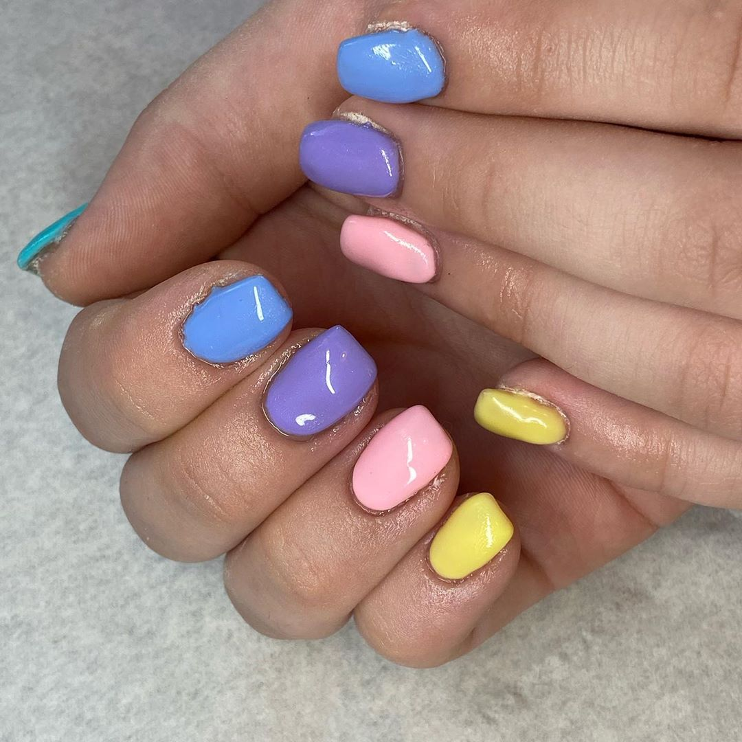 The Best Pastel Nails
