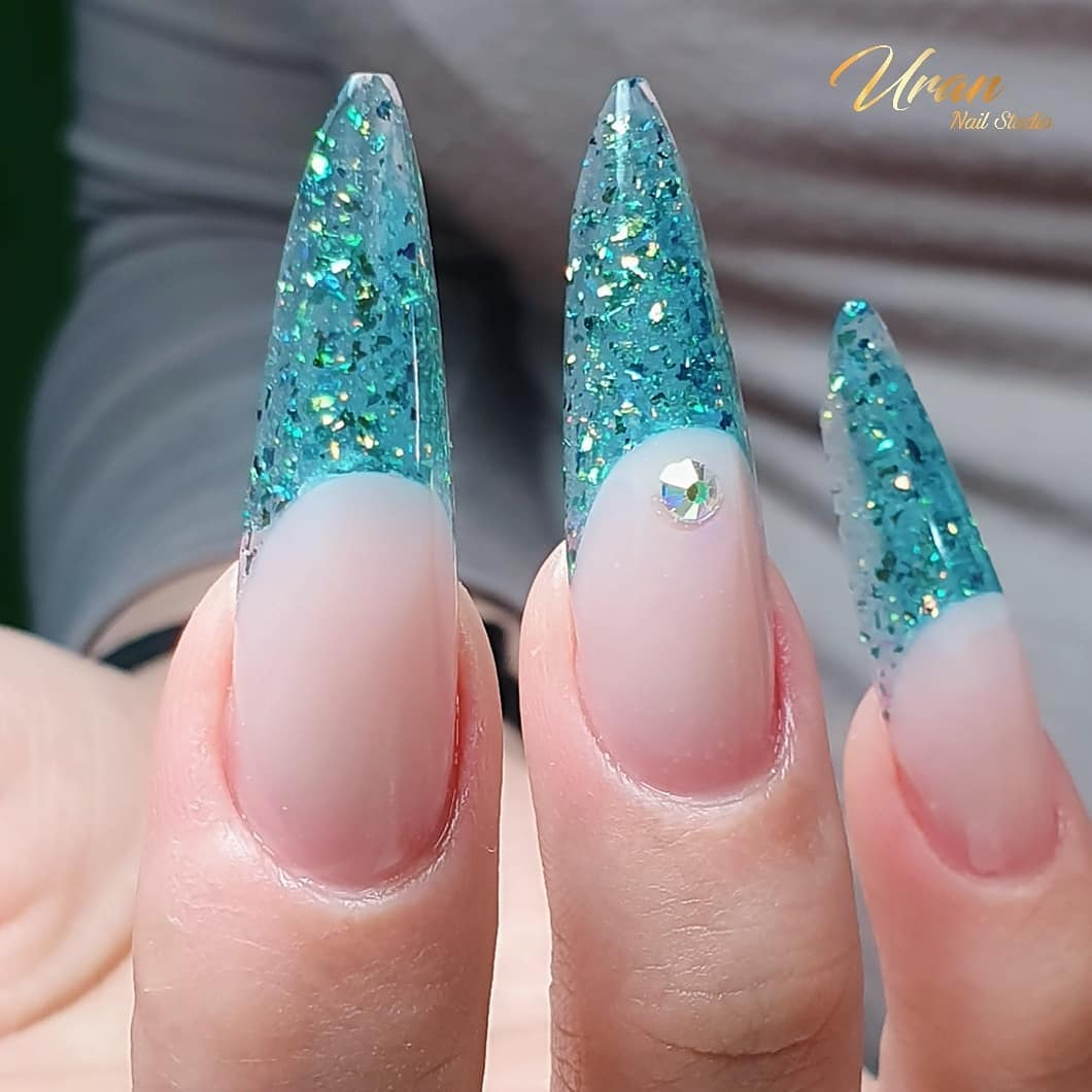 Aqua Nail Designs