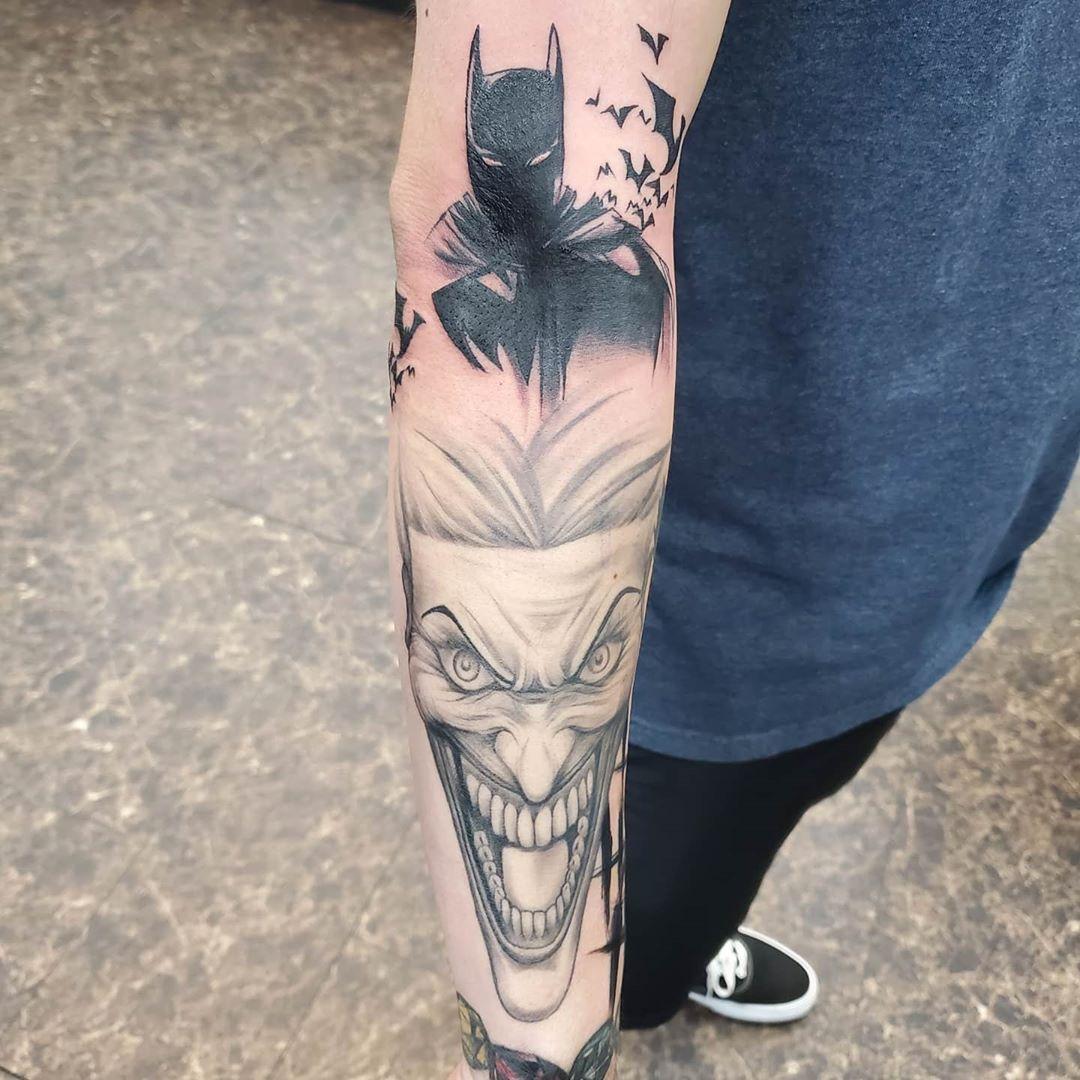 Joker Tattoo Designs