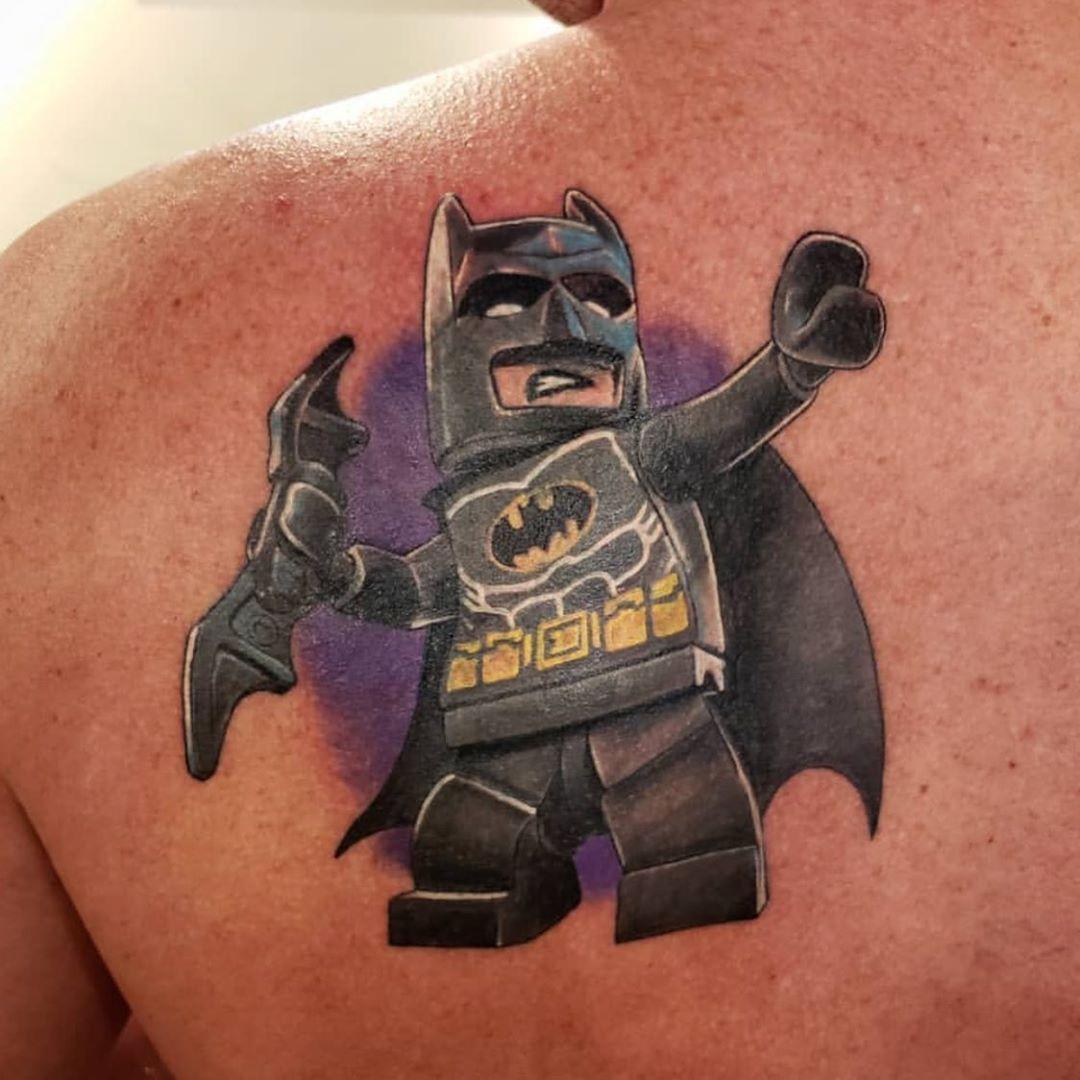 LEGO Batman Tattoo Design