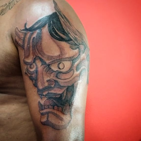 The Best Hannya Mask Tattoo Designs