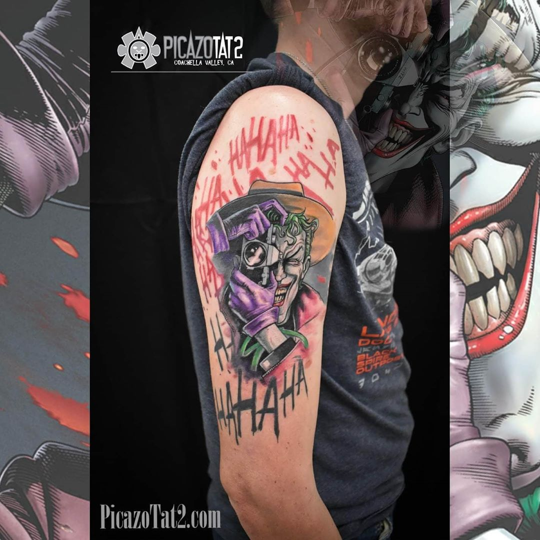 The Best Joker Tattoos