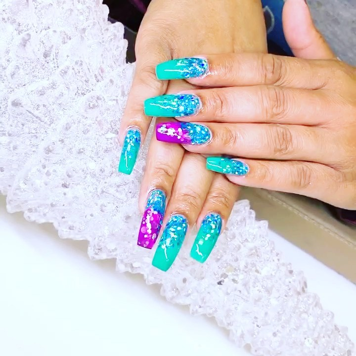 40 Best Turquoise Nails