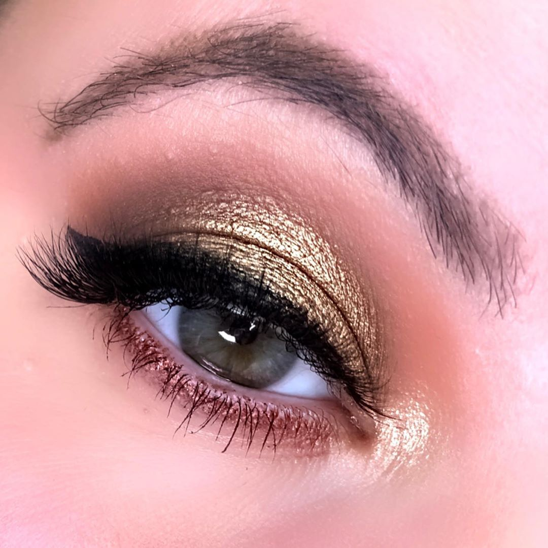 Gold Eyeshadow Makeup Inspirations for You