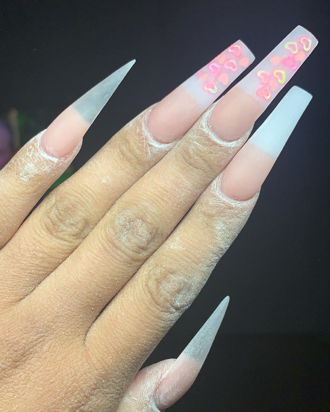 Updated 50 Coffin Nail Designs August 2020