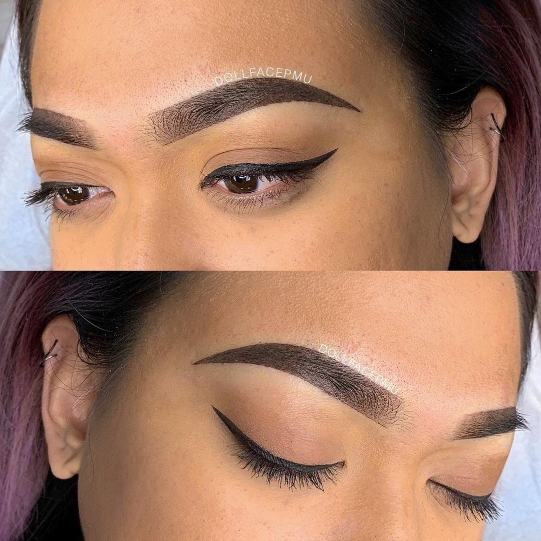 The Best Ombre Eyebrows
