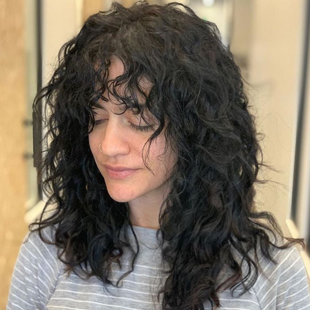 American Wave Perm Hairstyles