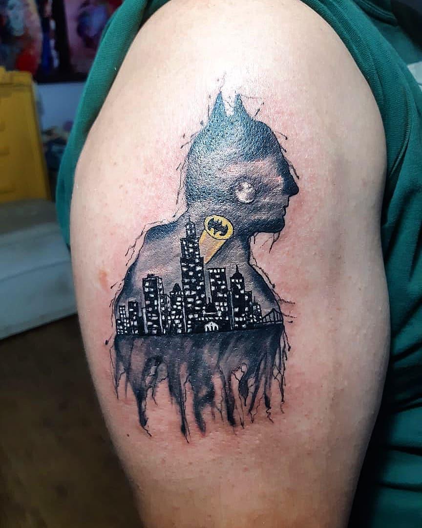 The Best Batman Tattoos