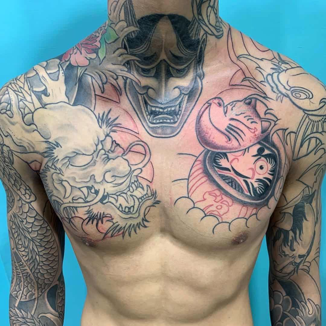 Japanese Tattoo Sleeve & Chest