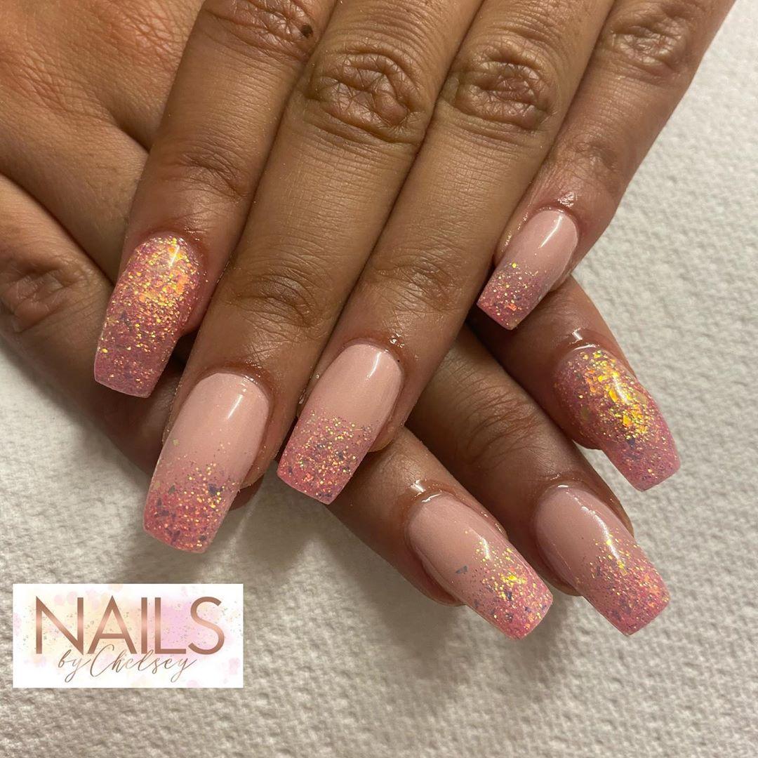 Sugared tips coffin nail designs