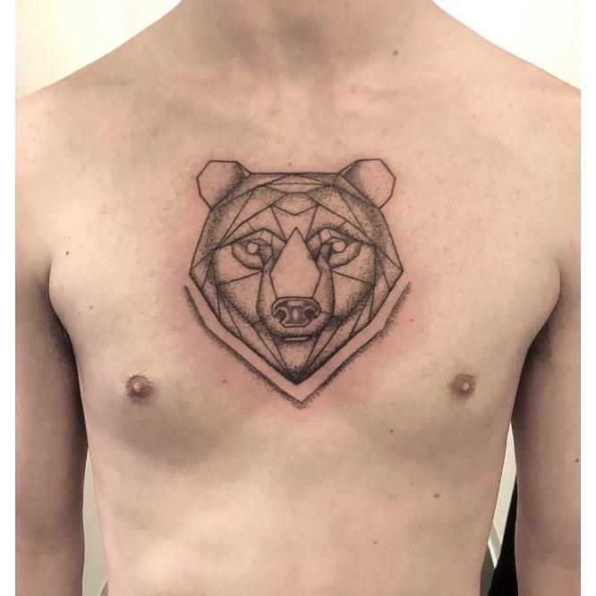 Best Bear Tattoo Designs