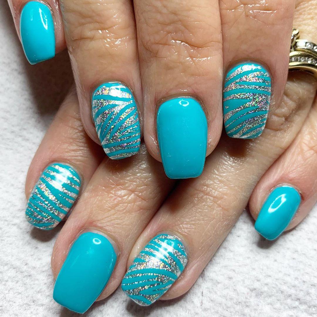 Aqua coffin nails