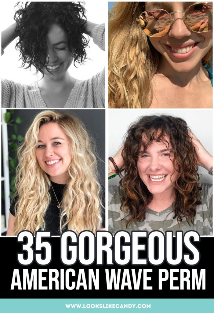 American Wave Perm Images