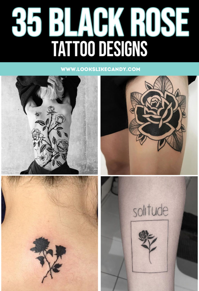 Black rose tattoos are truly beautiful and delicate works of art. You can get one that's a simple silhouette, or you can try a more detailed and intricate design. The possibilities are endless. What story will you tell with your rose tattoo?