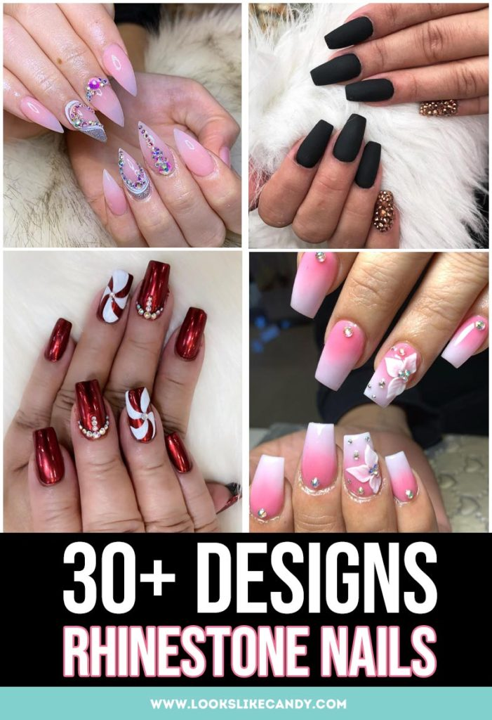 Best Rhinestone Nail Designs
