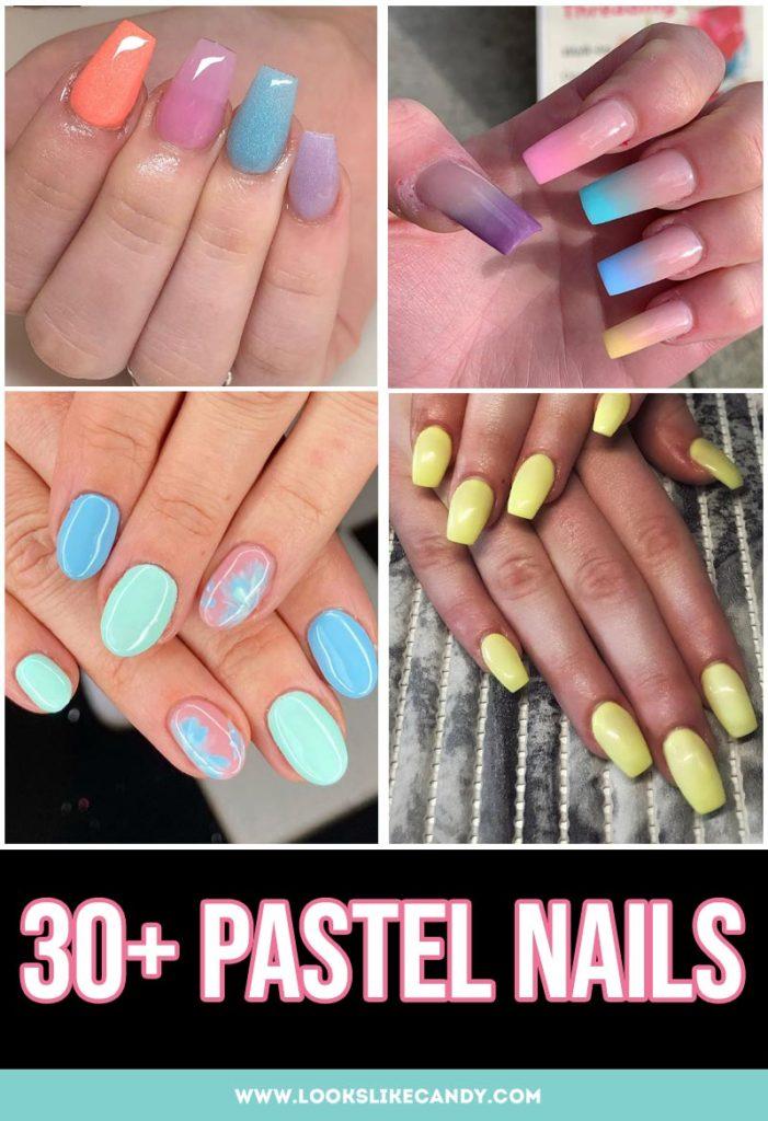Best Pastel Nail designs