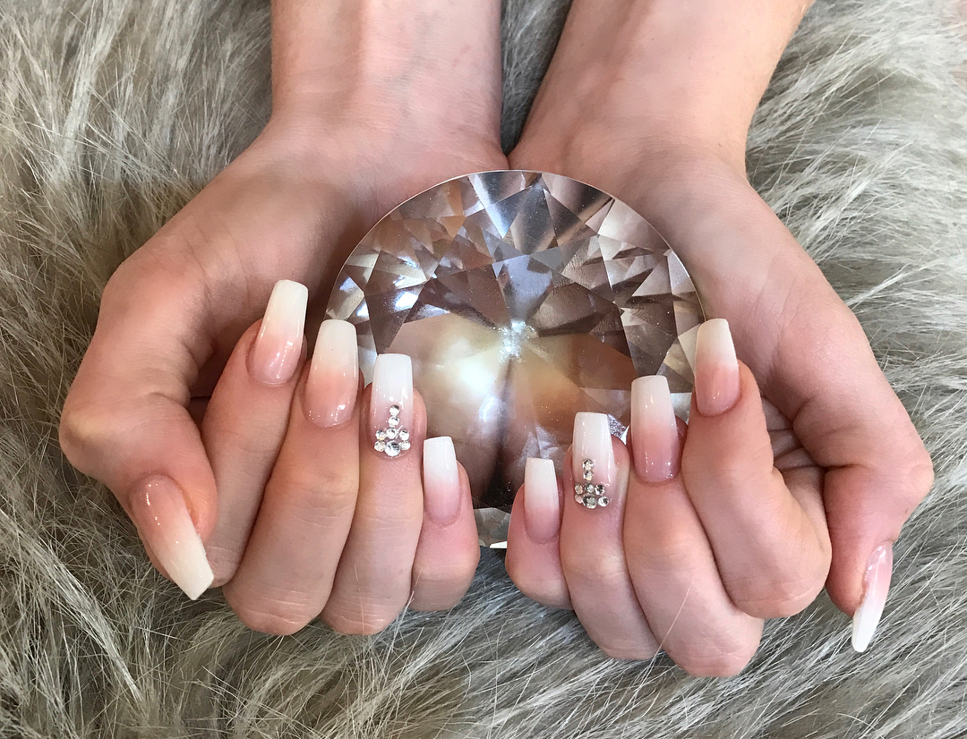 Gorgeous image of ombre french tips to inspire your next manicure