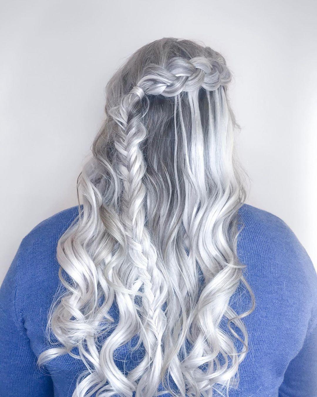 Dual Braids Dutch Fishtail Braid Hairstyles