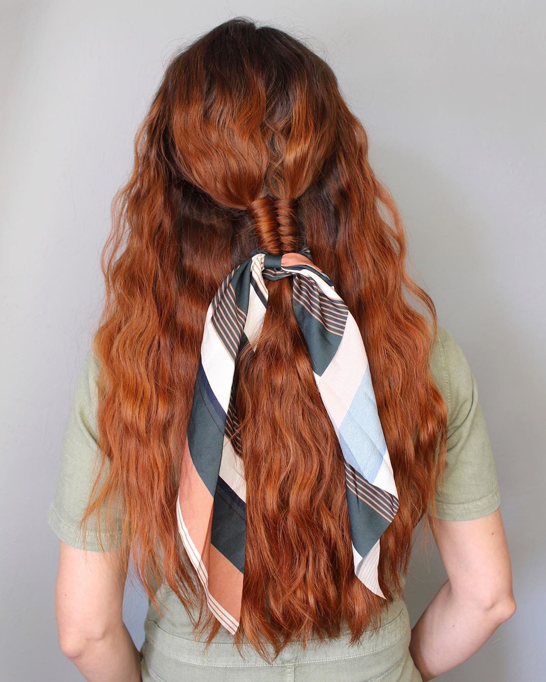 Beautiful image of a wave iron hairstyle