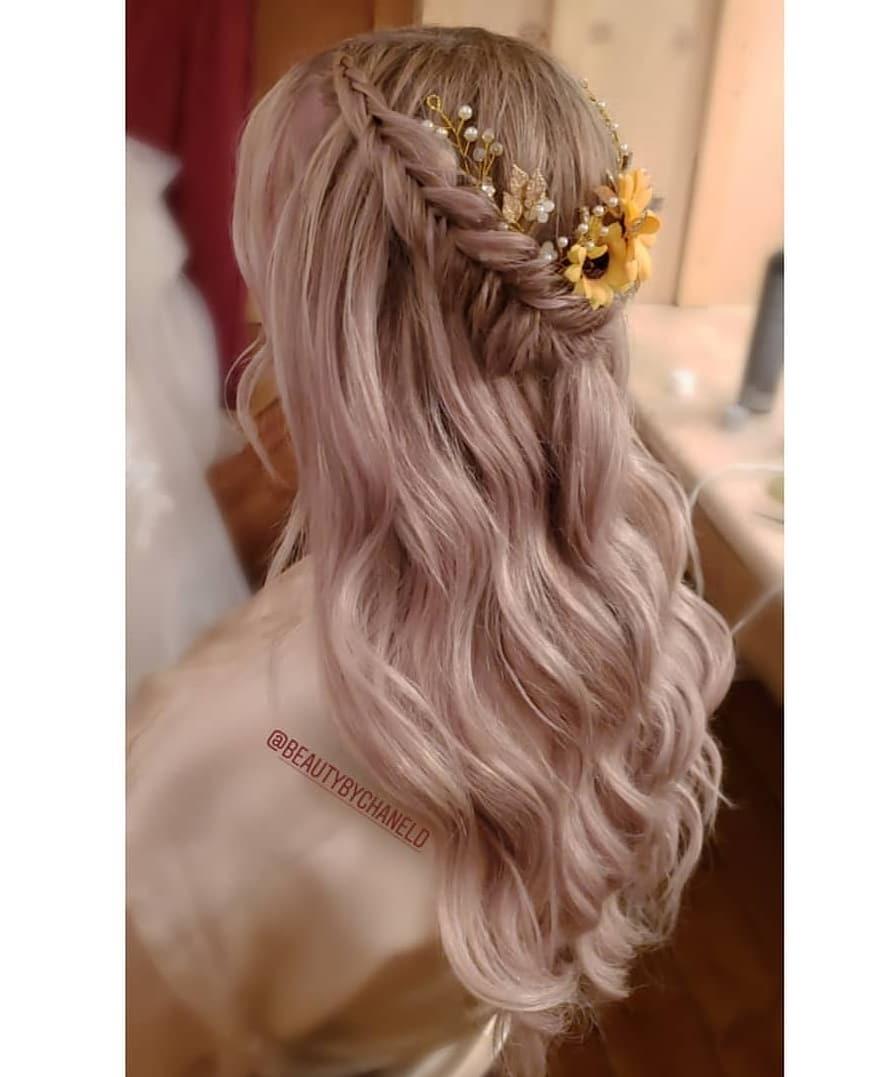 Bridal Crown Braids