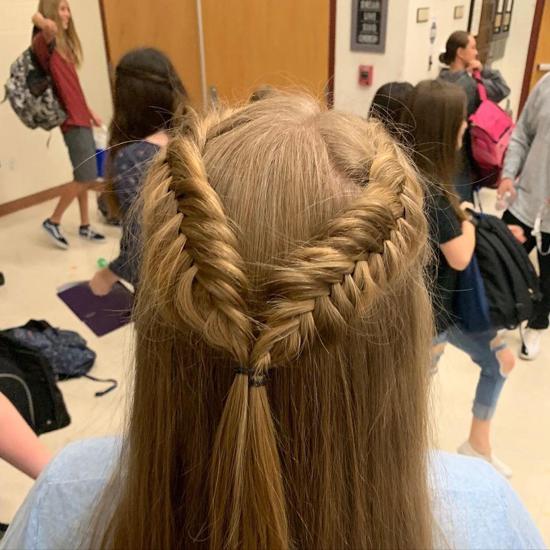 Everyday Dutch Fishtail Braid Hairstyles
