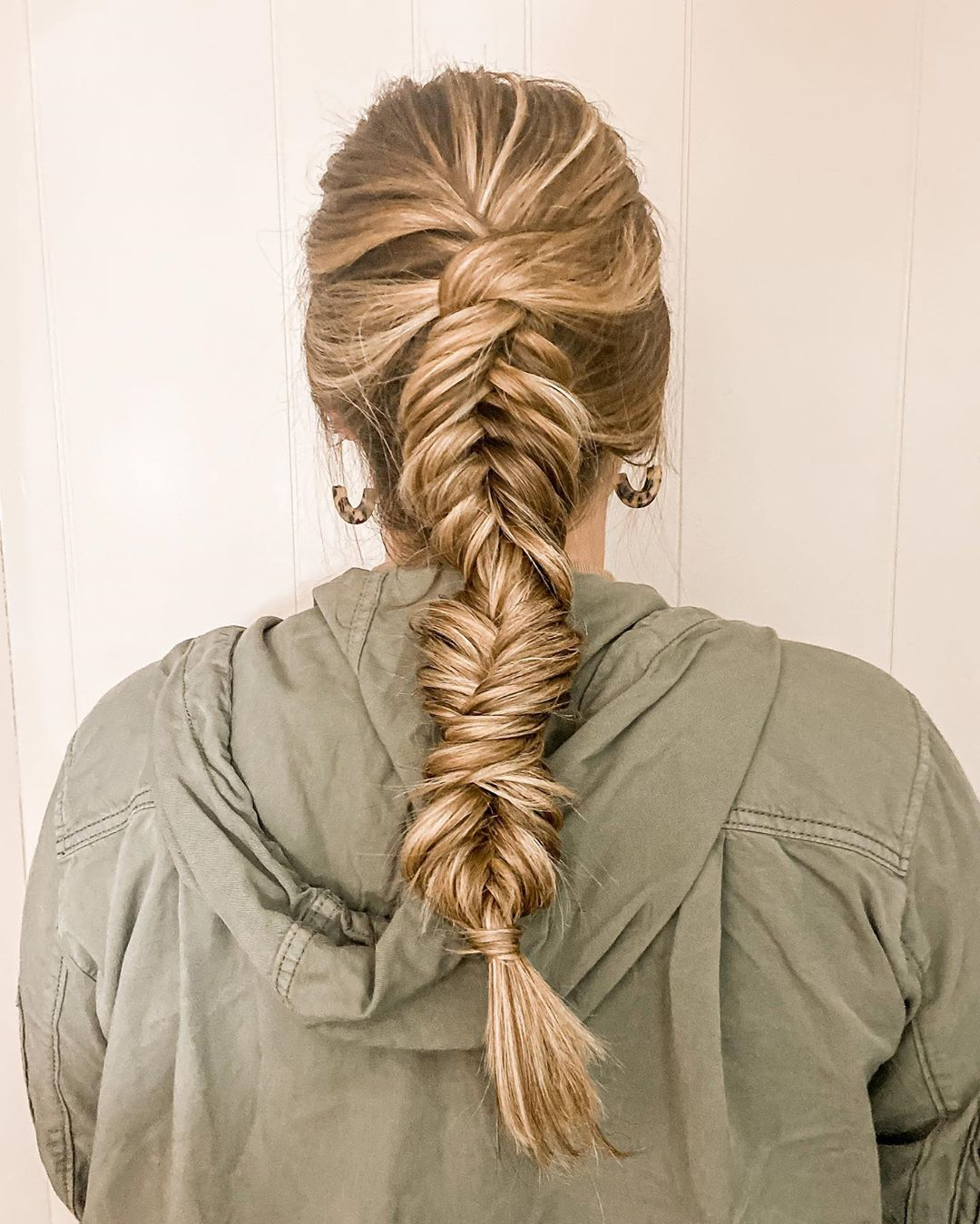 Dutch Fishtail Switchback Hairstyle