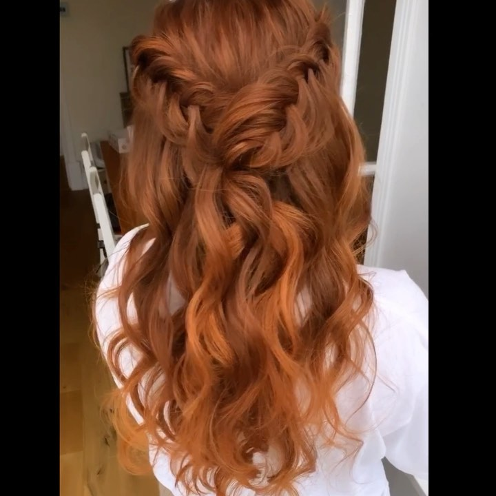 Dutch Fishtail Braid Weave